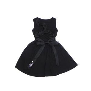 RONI ロニィ ロニー 子供服 18春夏 オーガンジーフリル付きワンピース r1382094303244
