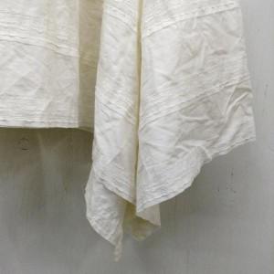 アナザーエディション 変型スカート I3545 オフホワイト ANOTHER EDITION 無地