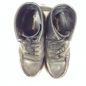 ゴリラ 7ホール ブーツ 103992 黒 / ブラック gorilla 無地