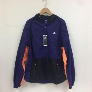 アディダス ナイロンジャケット 2017070404 紫 / パープル × 橙 / オレンジ adidas