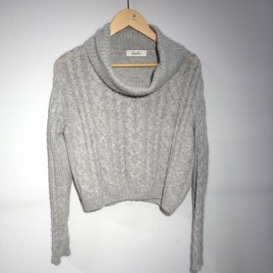 ダズリン ニット セーター 082538 灰色 / グレー DAZZLIN