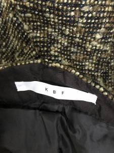 ケービーエフ 美品 ツイードショートパンツ I5029 茶 / ブラウン KBF
