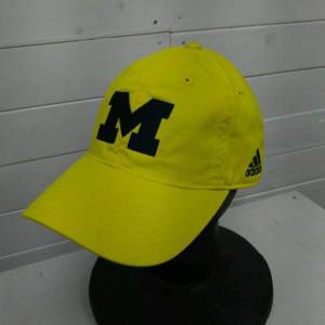 アディダス Adjustable Slouch hat Michigan I6277 黄色 / イエロー adidas コットン