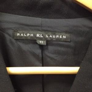 ラルフローレン ジャケット 17112918 黒 / ブラック RalphLauren 無地