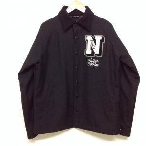 ニューエラ コーチジャケット 012215 黒 / ブラック New Era 迷彩柄