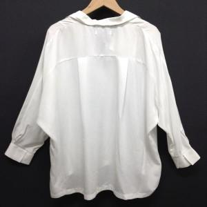 ローリーズファーム ドルマン スキッパーシャツ B1867 白 / ホワイト LOWRYS FARM 無地