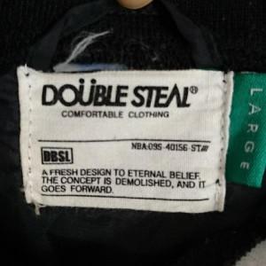 ダブルスティール コーチジャケット 18012506 黒 / ブラック DOUBLE STEAL 無地