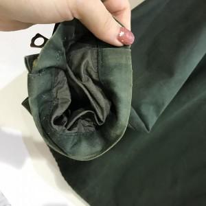 ウエストトゥワイス 厚手ジャケット 182227 緑 / グリーン WASTETWICE 無地
