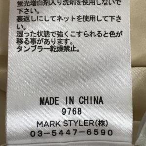 ダズリン レースフリル ショートパンツ 0107100051960 クリーム DAZZLIN 花柄