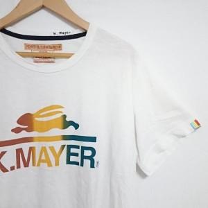 クリフメイヤー 半袖Tシャツ A7796 白 / ホワイト K.MAYER(KRIFFMAYER) 無地 綿 コットン