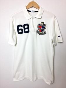 チャンピオン 半袖ポロシャツ A24A823 白 / ホワイト Champion