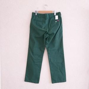 シュプリーム パンツ ワークパンツ A9442 緑 / グリーン SUPREME 無地 綿 コットン、ポリエステル