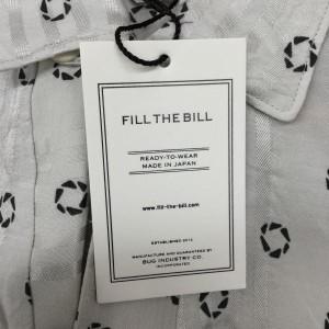 フィル ザ ビル シャツ 0076100292225 灰色 / グレー FILL THE BILL