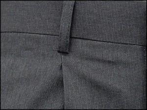 スラックス クールビズ ワンタック ビジネスパンツ グレー系 マイクロ千鳥 W76〜105cm OS3439-2