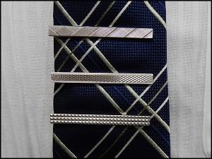◆礼装◆ネクタイピン/タイバー◆マイクロダイヤ模様◇メール便可 ACC34-03
