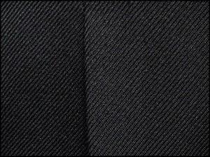 秋冬物 2タック「美脚」スラックス 黒 無地 ウォッシャブル ビジネスパンツ 76cm-94cm os8650-1