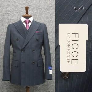 91ab291403f59 春夏物  FICCE BY DON KONISHI フィッチェ ダブル 3ピーススーツ スタイリッシュ