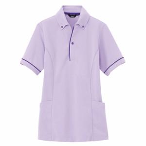 半袖ポロシャツ サイドポケット付 男女兼用 AZ-7668 アイトス(7668az)