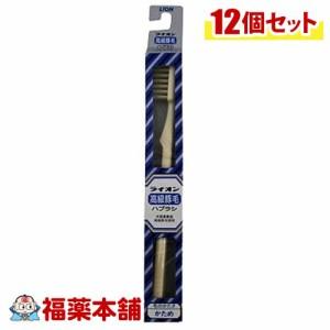 豚毛ライオン 天然毛 歯ブラシ ×12本[ゆうパケット・送料無料]