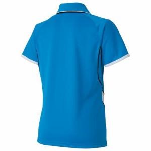 MIZUNO ミズノ  ソーラーカット/ゲームシャツ(レディース/ラケットスポーツ) ディーバブルー(62ja621424)