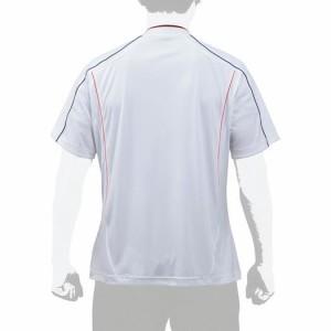 MIZUNO ミズノ  【グローバルエリート】ベースボールシャツ ホワイト×ネイビー(12jc7l0614)