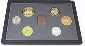 ミントセット 2009年 平成21年 プルーフ貨幣セット 年銘板あり(37837)