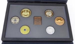 ミントセット 2002年 平成14年 プルーフ貨幣セット 年銘板あり(37840)