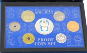平成17年 ドラえもん誕生35周年2005プルーフ貨幣セット ミントセット 特製メダル入(37706)