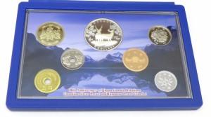 ミントセット 平成21年日加修好80周年2009プルーフ貨幣セット カナダ王室造幣局製5カナダドル記念銀貨幣入(37897)