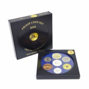 ミントセット 2001年 平成13年 オールドコインメダルシリーズ3 プルーフ貨幣セット 年号別(37901)