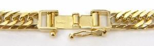 キヘイネックレス 18金 喜平 8面トリプル /ゴールド/K18YG 総重量30.3g 全長40cm【中古】(38669)