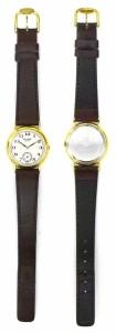 セイコー SEIKO レディース腕時計 ザリーグ クオーツ 2G28-6080 ホワイト文字盤×ブラウン革ベルト 【中古】(39223)