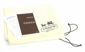 コーチ トートバッグ ソーホーシグネチャージップサッチェル バックル 5089 カーキシグネチャー×チョコ革【中古】(39251)