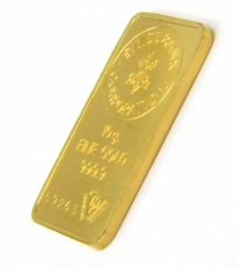 スイスバンク SWISS BANK 純金 ゴールドバー インゴット 24金 ingot /ゴールド/K24 10g 【中古】(40919)