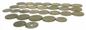 硬貨いろいろ 10800円分 16種類 29枚セット 記念硬貨 【中古】(42020)