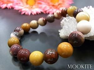 数珠 ブレスレット ムーカイトブレス10MM 天然石 お守り 選べるサイズ