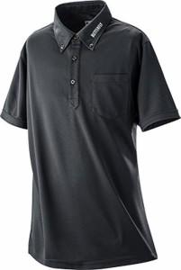 Butterfly タッキュウ ユニセックス BD・ポロシャツ 18 ブラック ポロシャツ(45400-278)
