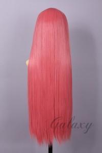 ウィッグ ストレート ロング ピンク ピンク系 耐熱 フルウィッグ wig 【即日発送可能】 y07s-27s(y07s-27s)