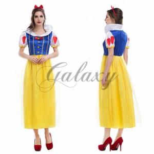 ハロウィン  お姫様 童話 プリンセス ドレス かわいい イベント パーティー 仮装 舞台ステージ コスプレ衣装 ps3027