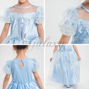 b07492b036242 ハロウィン キッズ 子供服 お姫様 プリンセス ワンピース 童話 仮装 コスプレ衣装 ps2770