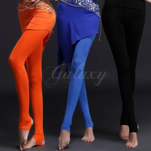 67689612c7231 ベリーダンス 社交ダンス 3色 トレンカレギンス ズボン パンツ 練習服 ヨガ ピラティス ダンス衣装