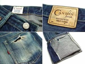 CANTON Lot550 キャントン 国産デニム1号 (デニムパンツ ジーンズ) 023566