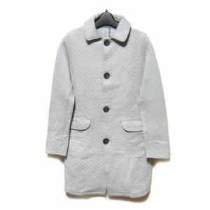 Le Glazik France グレーキルティングマリンコート・ジャケット gray quilting marine coat (ル グラジック フランス製) 029378