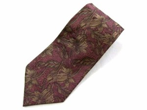 marie claire paris アンティークフラワー柄ネクタイ Antique flower necktie マリクレール 037561