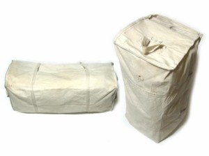 vintage 旧 一澤帆布製 希少 業務用工具ボストンバッグ「刻印無し」commercial boston bag (vintage ビンテージ ヴィンテージ) 039784