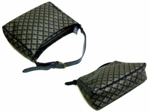廃盤 PATRICK COX パトリックコックス クラシック百合紋章 モノグラム ジャッキーバッグ (ショルダーハンドバッグ 鞄カバン) 044733