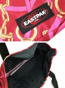 【新品】廃盤 EASTPAK BULILT TO RESIST 限定アンティークベルト柄ワイドトートバッグ (イーストバック) 045523