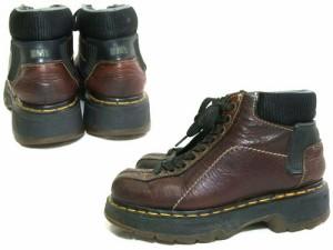 vintage Dr.Martens「UK4」生産終了英国製9ホールマウンテンレザーブーツ (9 Hole Mountain Leather Boots) ヴィンテージ 046393