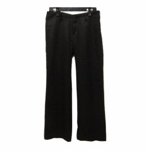 """ato 定番 ノータックドレスパンツ (Time-tested black no tuck dress trousers) アトウ 047495"""