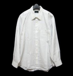 Mr JUNKO ピンストライプカッターシャツ (Pinstripe cutter shirt) ミスタージュンコ KOSHINO JUNKO for men 049362